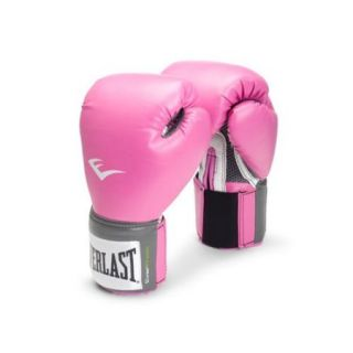 Everlast 12 oz. Pink Pro Style Boxing Gloves