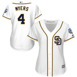 San Diego Padres Majestic Womens Wil Myers 2016 MLB All Star Game Cool Base Jersey   White