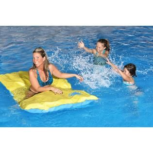 Blue Wave Santa María Unsinkable 70 in Floating Pool Mattress   Toys