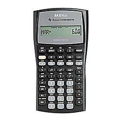 Texas Instruments BAII PLUS BusinessFinancial Calculator