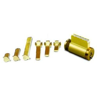 Global Door Controls Universal Cylinder 5 Pin Sargent with 6 Tail Pieces GLA6GAKD 26DM