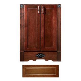 Architectural Bath Remington Cognac Transitional Bathroom Vanity (Common: 36 in x 21 in; Actual: 36 in x 21 in)