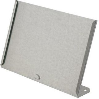 Galvanized Tabletop Sign Holder