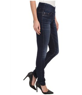 Jag Jeans Nora Pull On Skinny Knit Denim in Blue Ridge Blue Ridge
