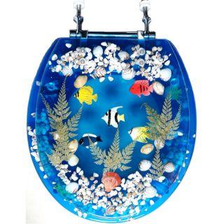 Daniels Bath Fish Round Toilet Seat