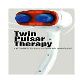 Twin Pulsar Therapy Massager by Sunpentown
