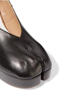 Leather wedge pumps  Maison Margiela