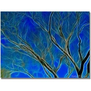 "Trademark Art ""Big Tree"" Canvas Art by Kathie McCurdy"