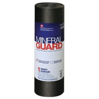 Mineral Guard 3 ft. x 33 ft. (100 sq. ft.) Charcoal Mineral Surface Rolled Roofing 1002180