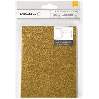 """American Crafts A2 Cards and Envelopes, 4.375"""" x 5.75"""", 8pk"""