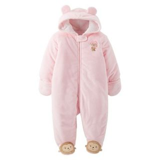 Just One You™Made by Carters® Newborn Girls Monkey Pram   Pink