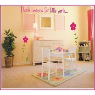 Thank Heavens For Little Girls / Boys Wall Decal by Alphabet Garden