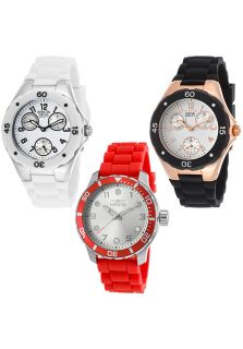 Women's Spec. Ed. Couture Multi Function White Silicone and Dial Set