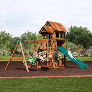 Backyard Discovery Windsor II Swing Set   Free Delivery!   Toys