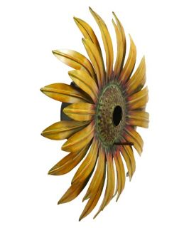 DecMode Sunflower Bird House   Bird Houses