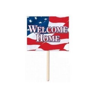 Welcome Home Yard Sign Party Accessory (1 count)