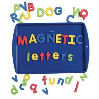 Bilingual Magnetic Foam Alphabet   Lowercase