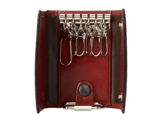 Bosca Old Leather Collection   6 Hook Key Case Cognac Leather