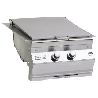 Fire Magic 3288 1 Built In Double Searing Station with Side Burner   Outdoor Kitchens