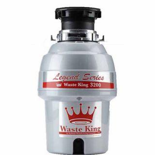 Waste King 3200 Legend Series 3/4 HP EZ Mount Sound Insulated Garbage Disposer