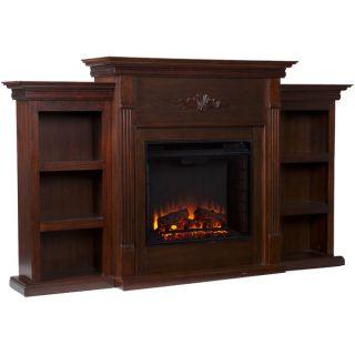 Upton Home Dublin 70 inch Espresso Electric Fireplace   13197002