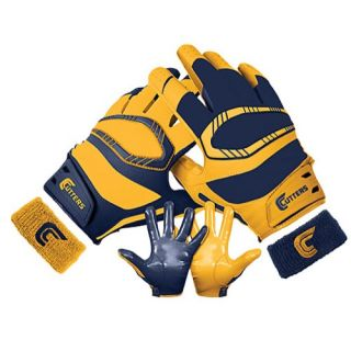 Cutters Rev Pro Yin Yang Receiver Gloves   Mens   Football   Sport Equipment   Dark Green/Gold