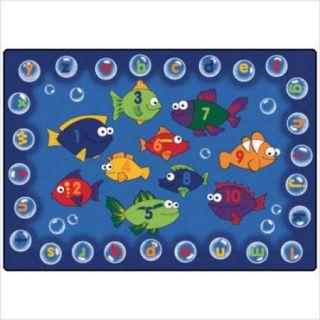 Carpets for Kids Literacy Fishing Kids Rug