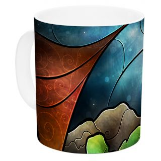 Think Of Me by Mandie Manzano 11 oz. Princess Ceramic Coffee Mug by