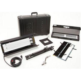 KIT D2 120/STD Kino Flo Kino Flo Diva Lite 201 Light Kit with Stand, Full Flozier, Offset Mount, Lamp Case, Travel Case, 120VAC