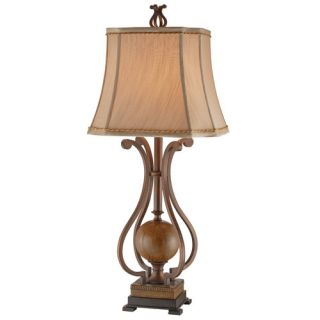 Stein World Clarion 30.75 H Table Lamp with Bell Shade