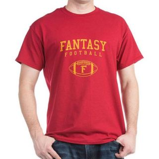 CafePress Men's Fantasy Football Dark T Shirt