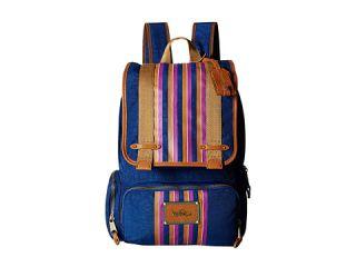 Kipling Globe Trekker Backpack by David Bromstad Abit Vintage