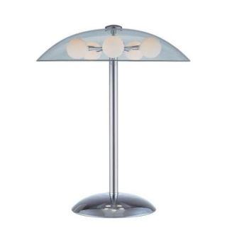 Illumine 20 in. Chrome Table Lamp with Frost Glass CLI LS 20737C/FRO