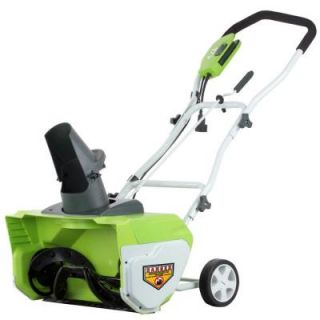 Greenworks 20 in. Corded Electric Snow Blower GW26032