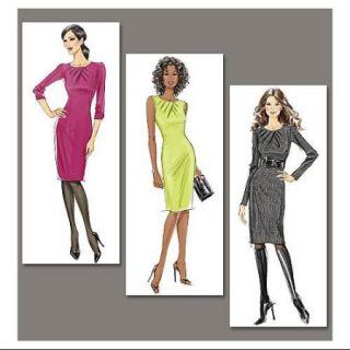 Misses'/Misses' Petite Dress   EE (14   16   18   20) Pattern