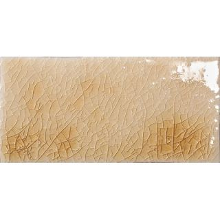 Cape Cod 3 x 6 Ceramic Subway Tile in Antique Beige Crackle by Emser