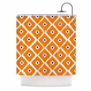 Chirp Polyester Shower Curtain by KESS InHouse