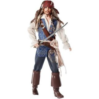 Barbie Pirates of the Caribbean Doll, Captain Jack Sparrow