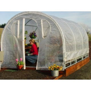 6'6'' x 8' x 12' Weatherguard Greenhouse