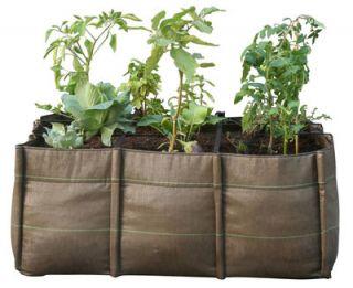 BacLong Geotextile Planter   Outdoor   105 L 3 squares   110 L by Bacsac