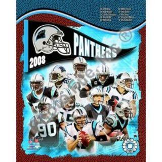 2008 Carolina Panthers Team Composite Sports Photo (8 x 10)