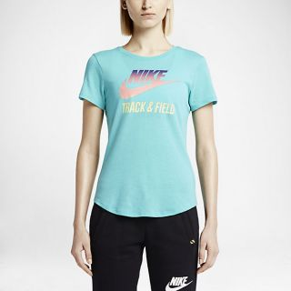 Nike Track and Field Gradient Womens T Shirt.