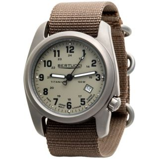 Bertucci A 2T Original Classic Matte Titanium Watch (For Men) 6653P 35