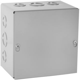 WIEGMANN 144 cu in 0 Gang Metal New Work Wall Electrical Box