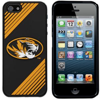 Missouri Tigers Two Piece iPhone 5 Snap On Case   Gold/Black