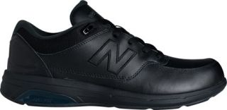 Mens New Balance MW813 Walking Shoe   Black/Black