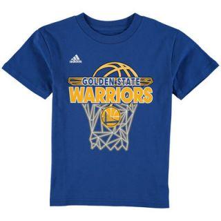 Golden State Warriors adidas Toddler 3D Net T Shirt   Royal
