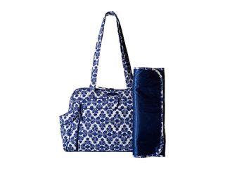 Vera Bradley Stroll Around Baby Bag Cobalt Tile