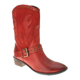 Womens Spring Step Markie Red Leather  ™ Shopping   Great