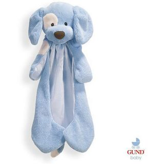 Gund Baby Huggy Buddy Blue Dog   Shopping
